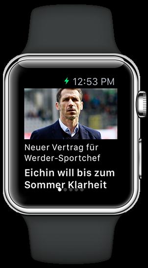 Apple watch App Screenshot 1